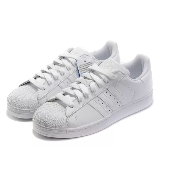 all white adidas shoes