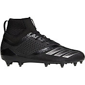 black adidas cleats