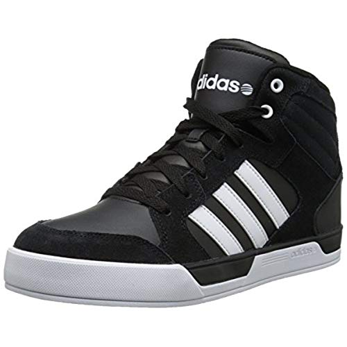black adidas high tops