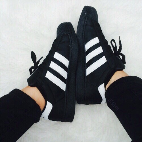 black adidas shoes for girls