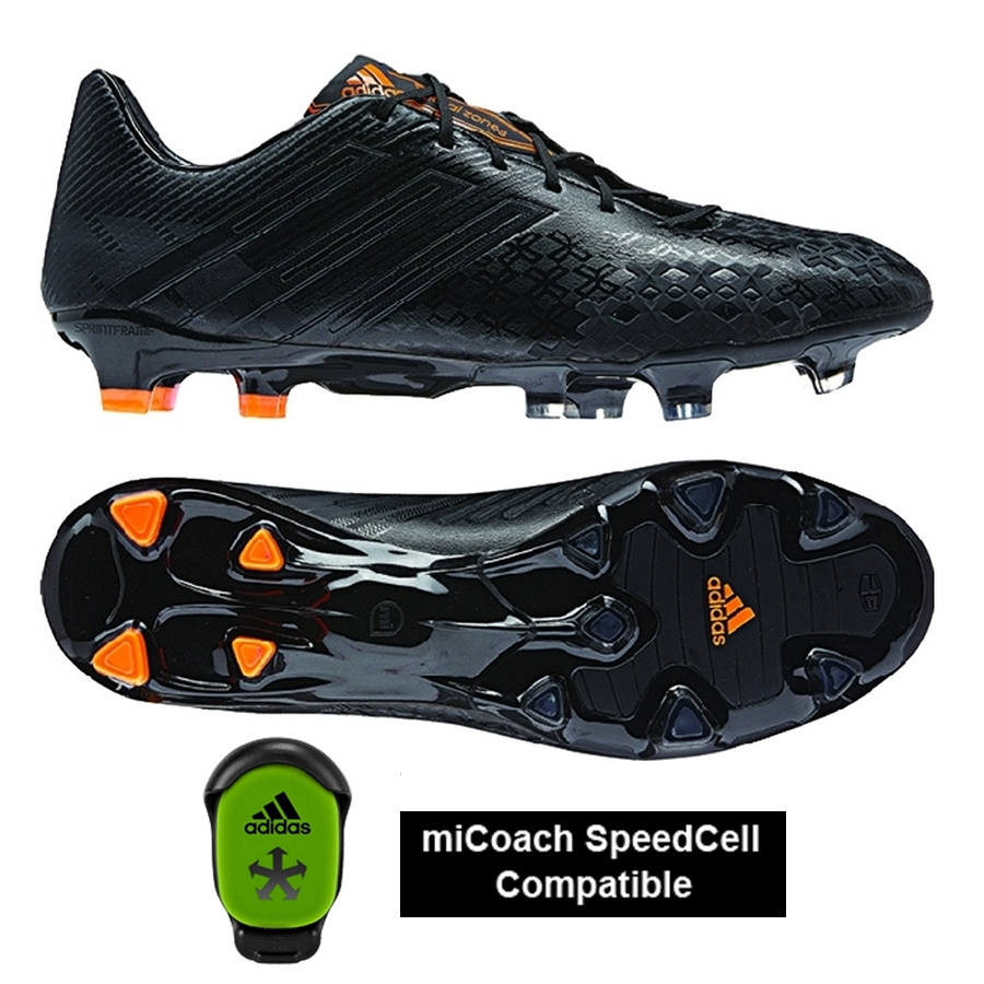 black adidas soccer cleats