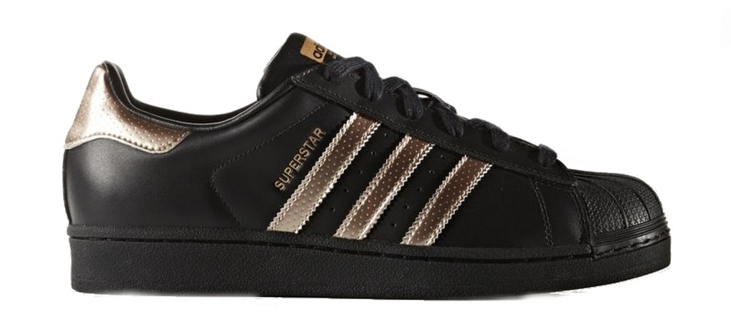 black and gold adidas womens