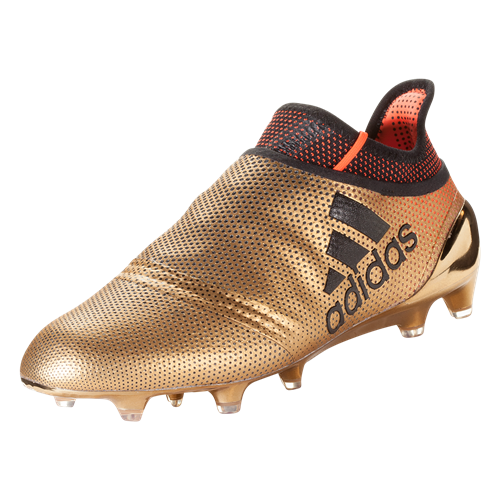 gold adidas cleats