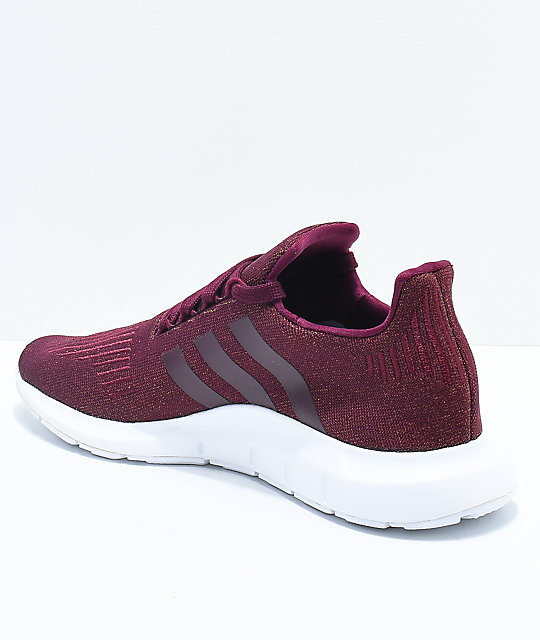 maroon adidas shoes