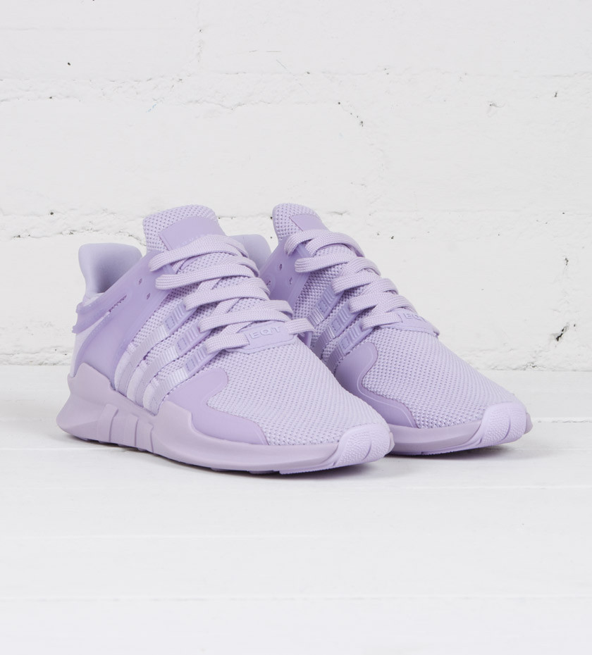 brand new 02207 a55b6 real purple white womens adidas eqt boost shoes d10d5 05fc6