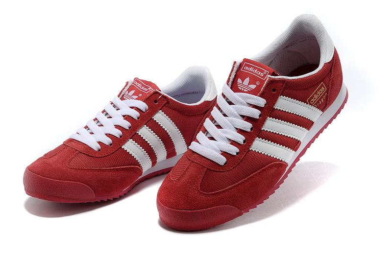 red adidas shoes womens