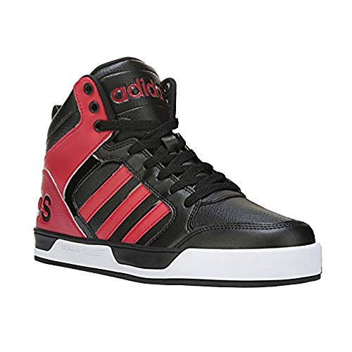 red and black adidas shoes