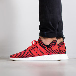 red and black adidas