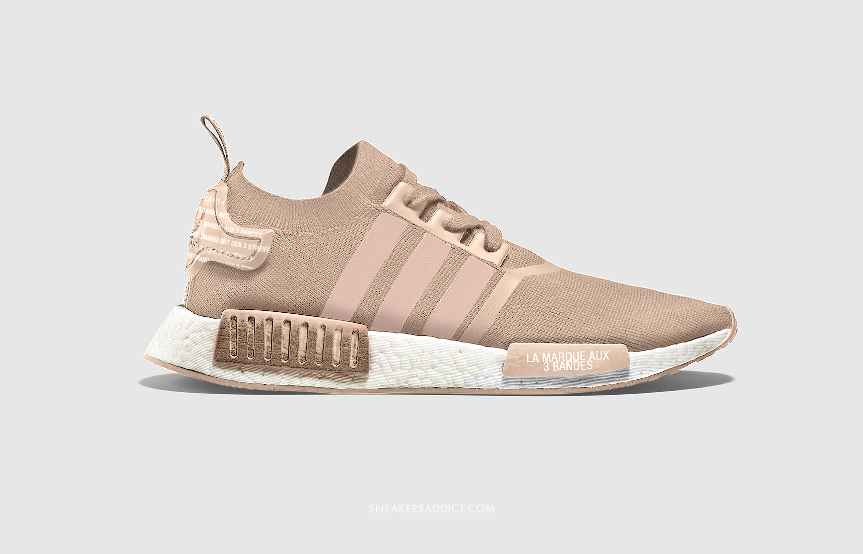tan adidas shoes