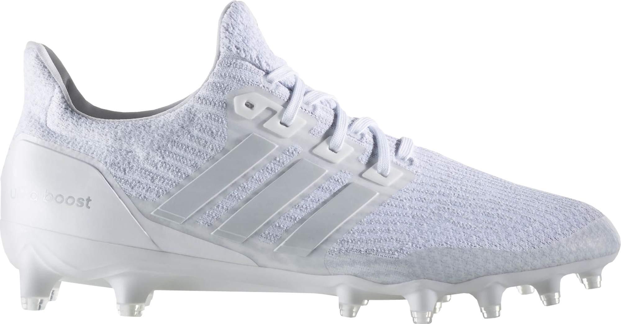 white adidas cleats