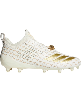 white adidas football cleats